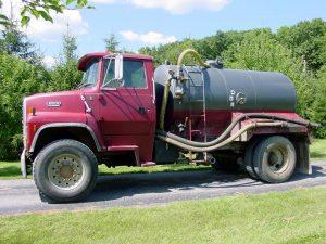 first big sweet honey truck