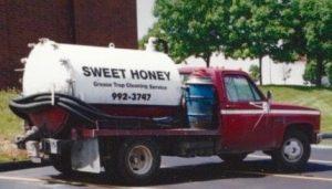 early sweet honey truck